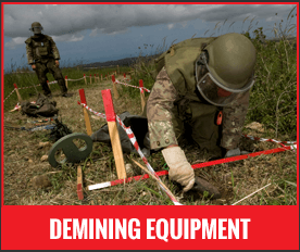 Demining Suits and Tool Kits