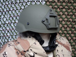 Gunfighter helmet